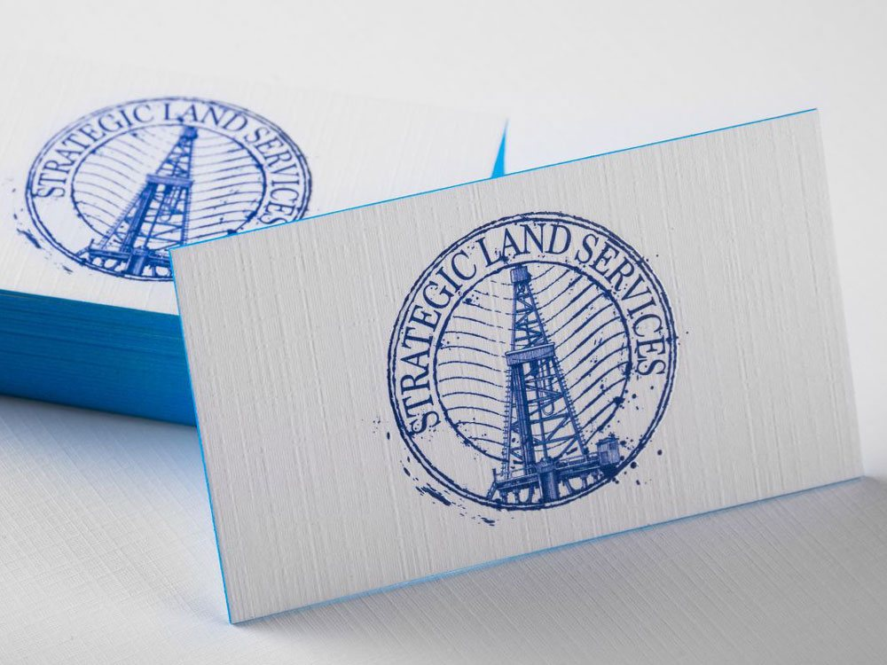Brand specialists in printing promotional products branded linen business cards reheart Choice Image