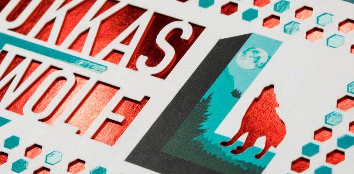 Business Card – Die Cut