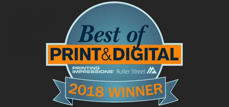 Cooley Group Recognized as a Winner of the 2018 Best of Print & Digital® Award